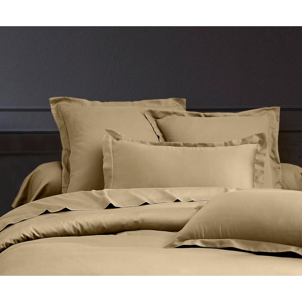 Parure de lit satin de coton lin