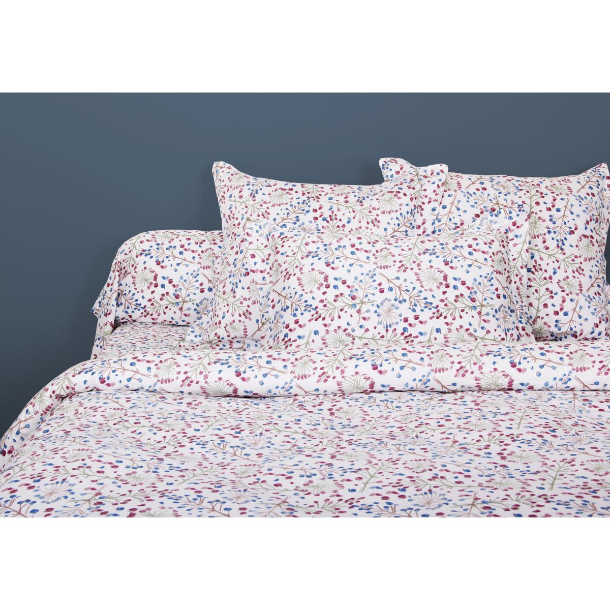 Parure de lit satin de coton OMBELLIFERE